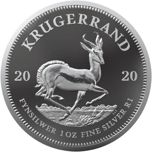 Wedding 2020 1oz Silver Proof Coin: Buy 2020 Proof Silver South African Krugerrand Coins